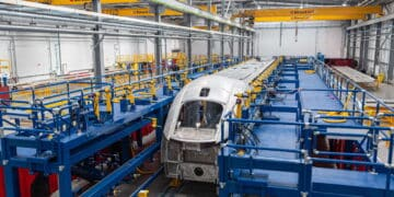 New trains for Avanti West Coast being built