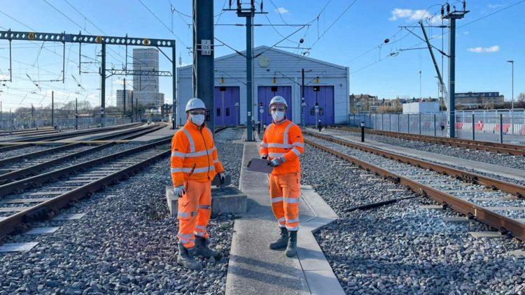 Formal handover of Heathrow Express depot to Network Rail