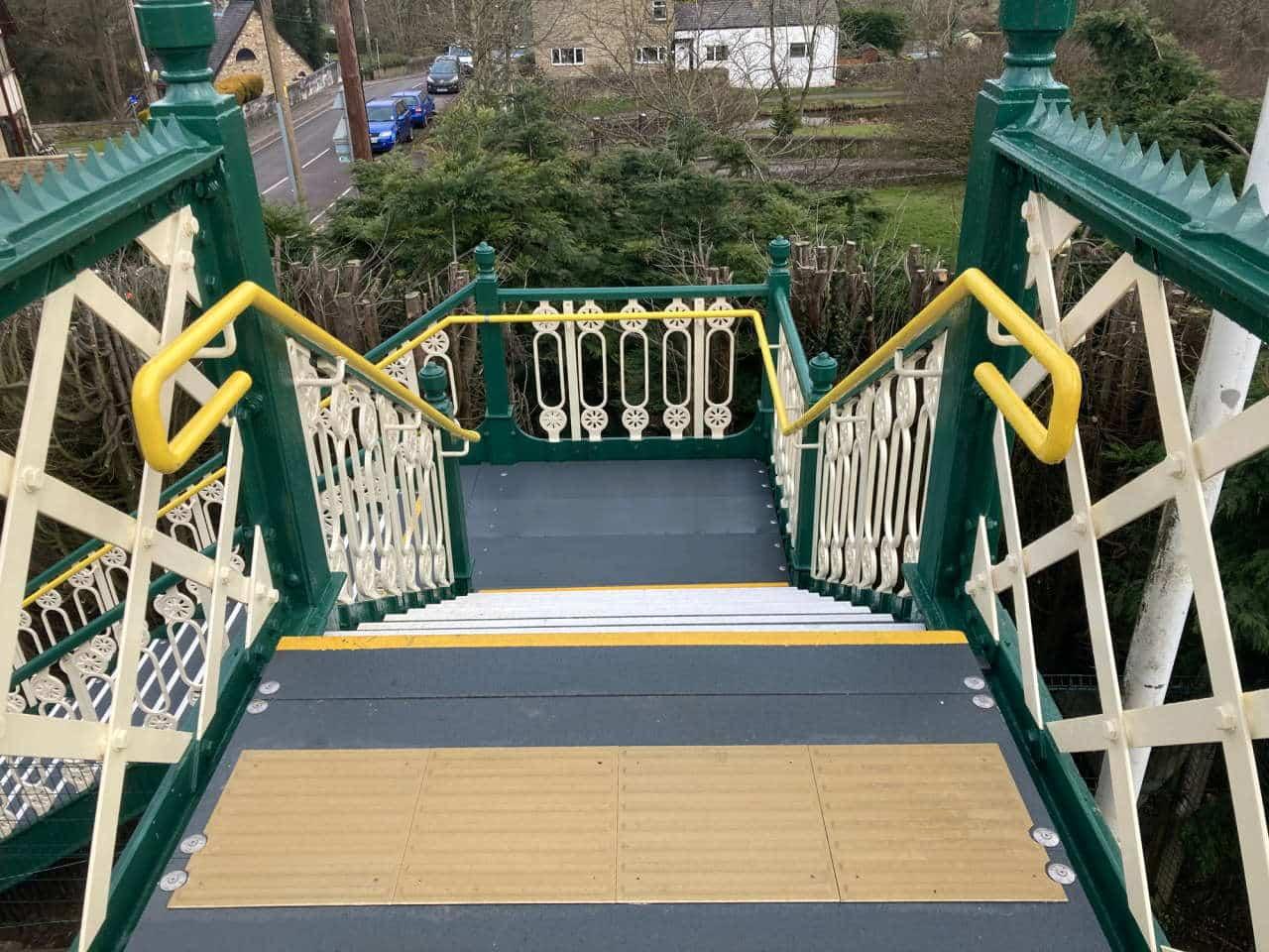 Furness Vale Victorian Railway Footbridge