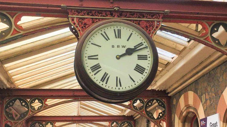 Great Malvern clock broken awaiting repairs