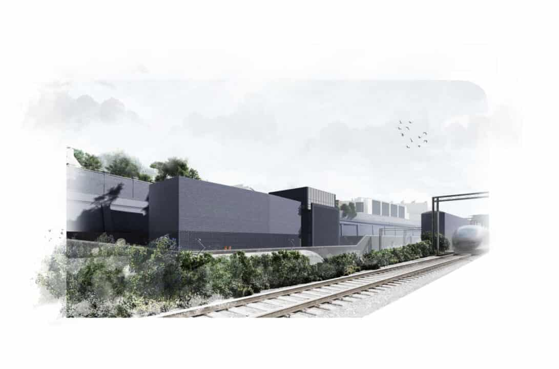 Designs revealed for new emergency shaft in Euston
