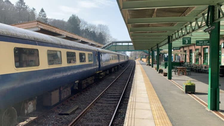 Okehampton railway visitor centre