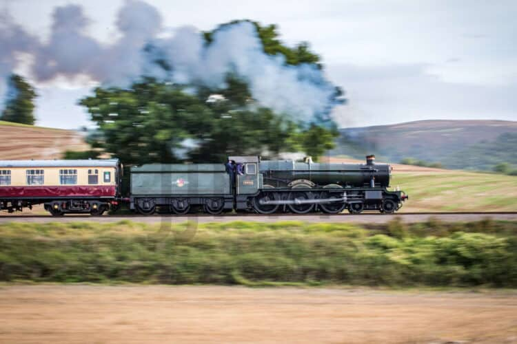 4936 Kinlet Hall hauling trains