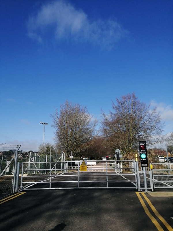 Jetty Avenue Level Crossing Woodbridge Suffolk