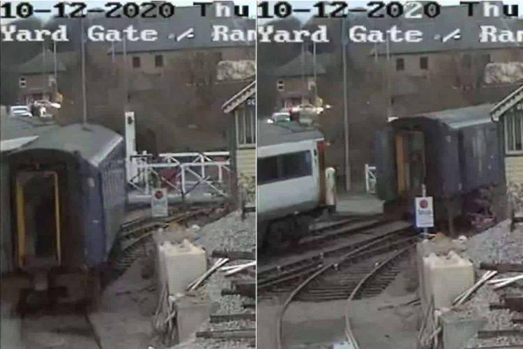 Mid Norfolk Railway pacer train incident