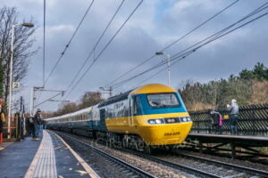 LNER HST farewell tour passes through Outwood