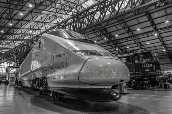 Eurostar 3308 at the National Railway Museum