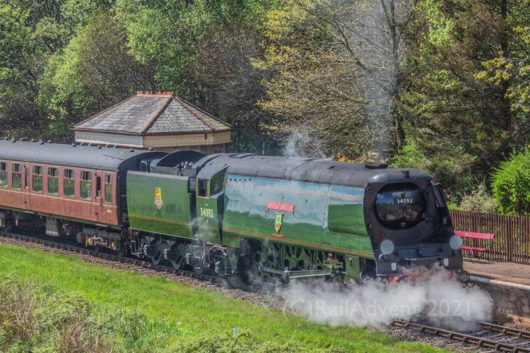 34092 City of Wells on the East Lancashire Railway