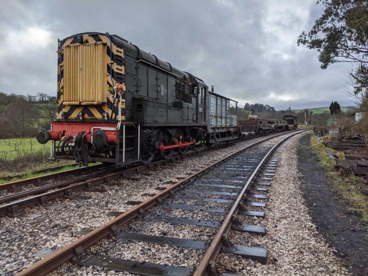 New Bullhead rail arrives at the South Devon Railway
