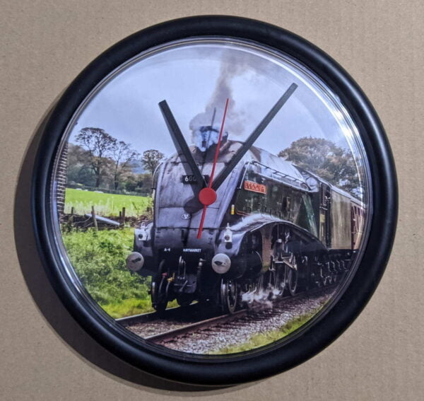 9 inch wall clock featuring 60009 Union of South Africa