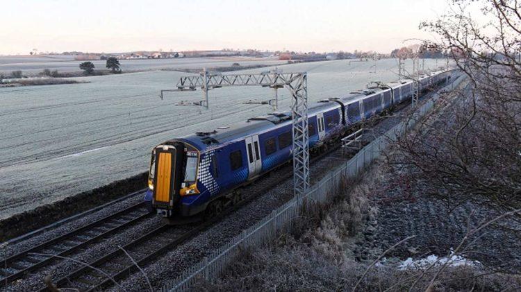 ScotRail Class 380 electric train