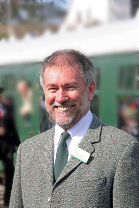 Swanage Railway chairman Gavin Johns