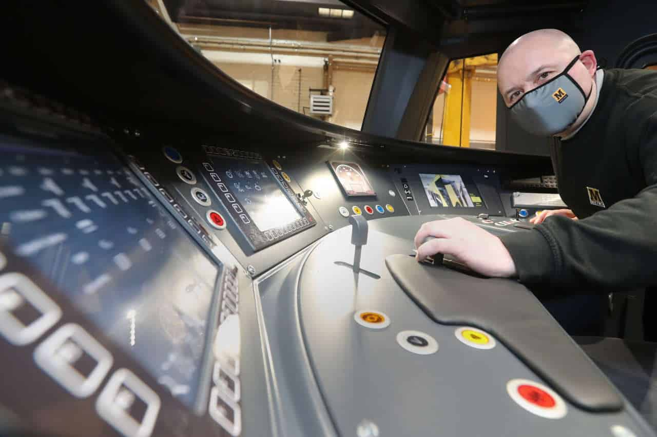 Tyne & Wear Metro Replica Cab Dashboard