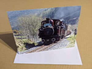 snowdonian greeting card