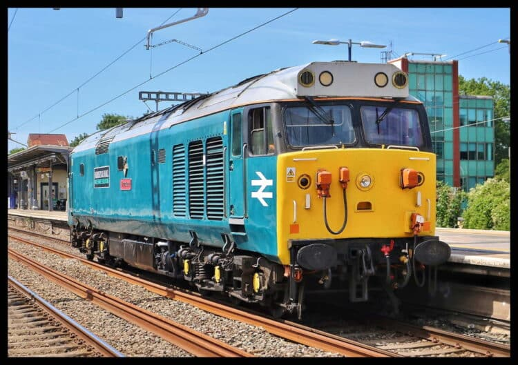 Class 50 50008 in action
