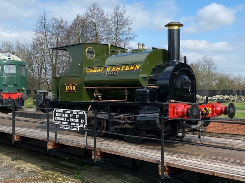 GWR Trojan at the Didcot Railway Centre