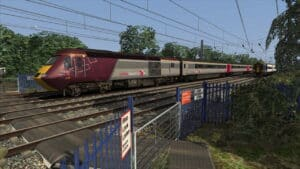 HST scenario for Train Simulator