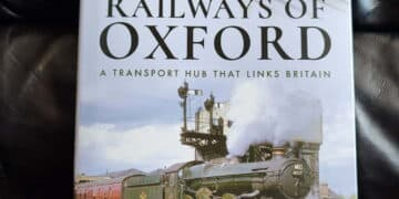 Railways of Oxford book by Laurence Waters