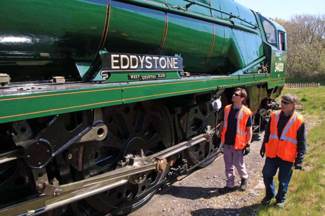 34028 Eddystone at Norden