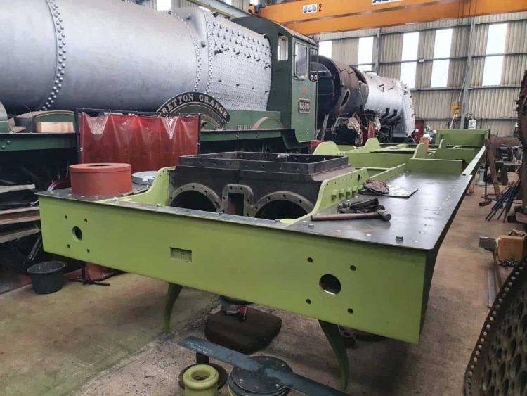 Holden F5 789 steam locomotive at Tyseley