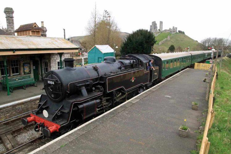 80104 on Swanage Railway refresher trains