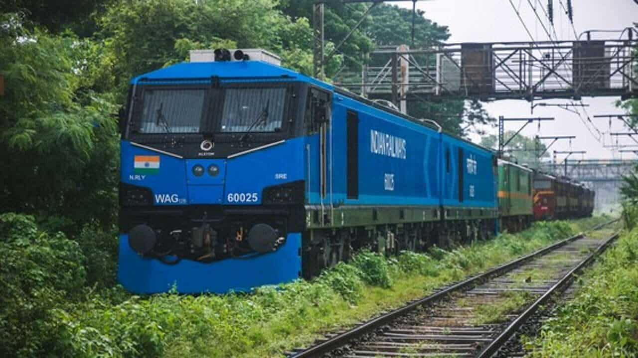 New electric locomotives for Indian Railways