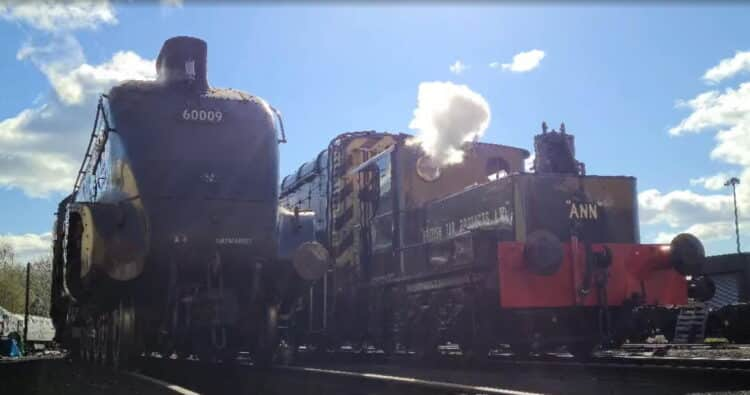 Sentinel Ann and 60009 Union of South Africa in Bury
