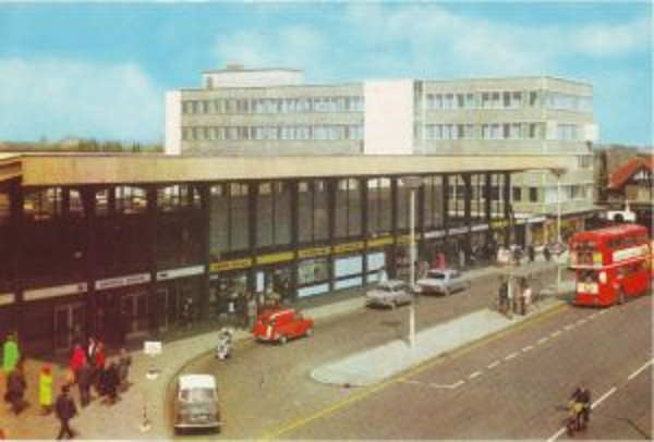 Barking Railway Station in the 1960s