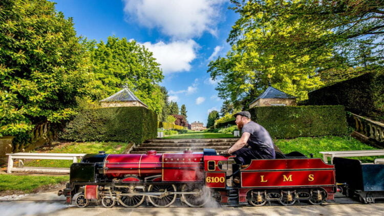 Royal Scot Return Service Newby Hall North Yorks