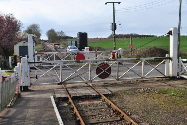 Kimberley level crossing