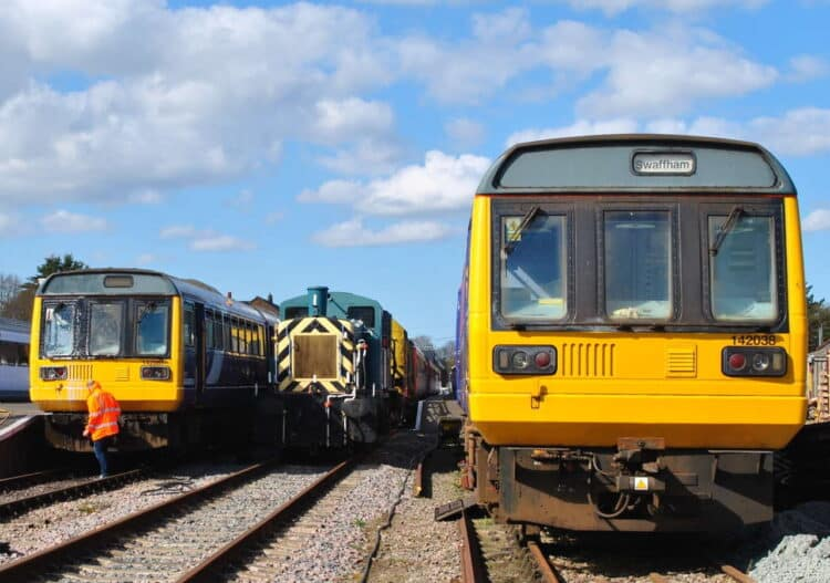 Pacer on test at the Mid Norfolk Railway