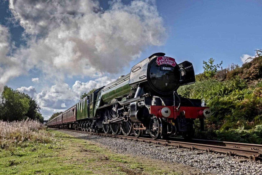 Flying Scotsman on the East Lancashire Railway