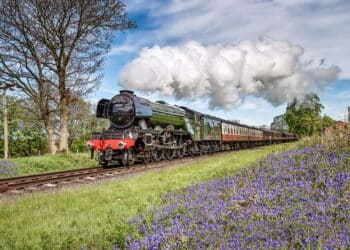 Flying Scotsman on the East Lancashire Railway