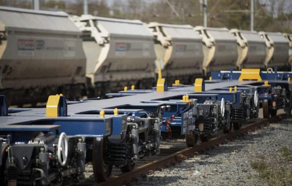 New Ecofret wagons arrive with GB Railfreight