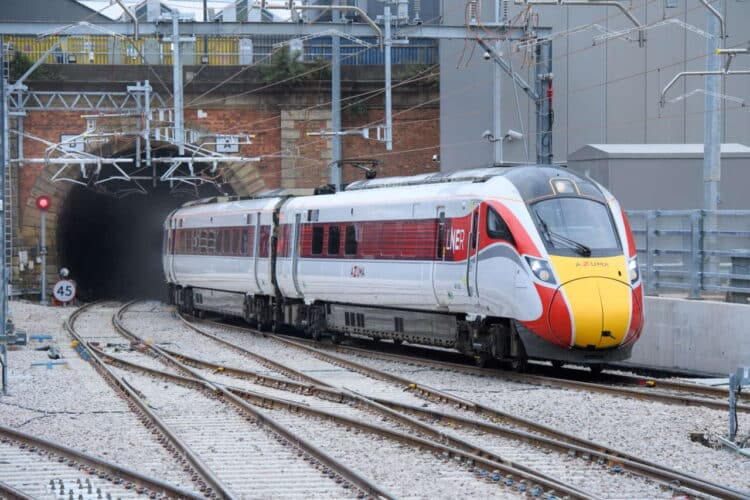 LNER Historic Milestone