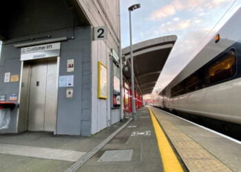 Macclesfield Station lift upgrade project complete