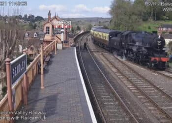 Severn Valley Railway live stream cameras