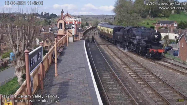 Severn Valley Railway live stream cameras