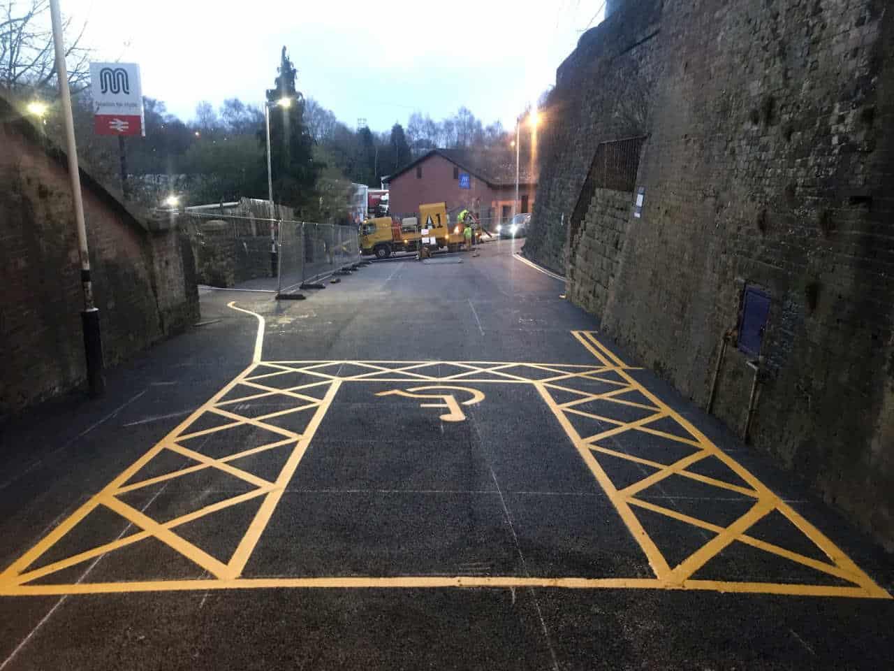 Newton for Hyde railway station Car Park