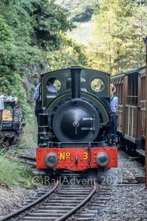 No 3 Sir Haydn on the Talyllyn Railway