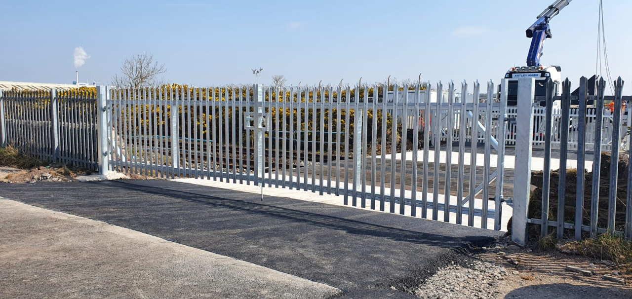 Siddick temporary level crossing, Workington