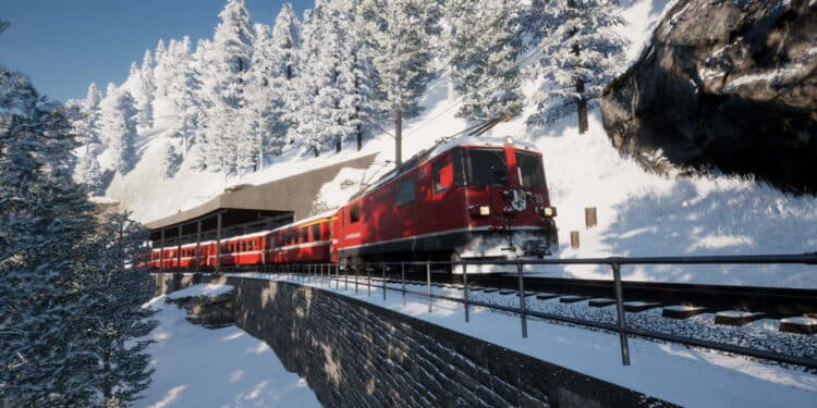 Arosa Line for Train Sim World 2