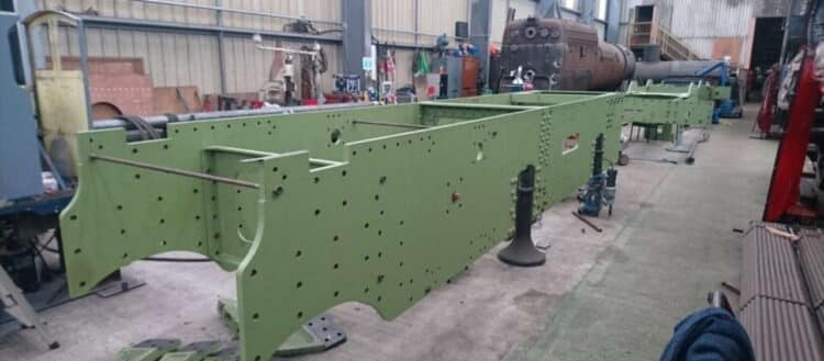 TYSELEY Locomotive Works (TLW) has completed the assembly of the main frame component's for No. 3840 County of Montgomery.