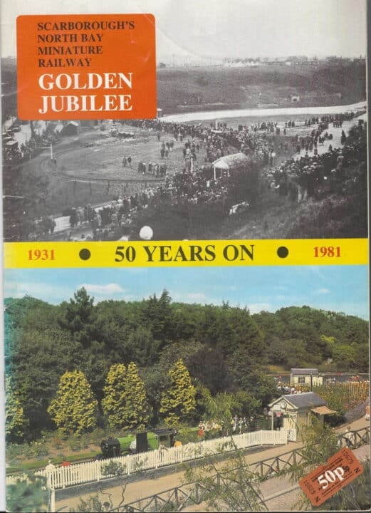 front cover of Golden Jubilee guide