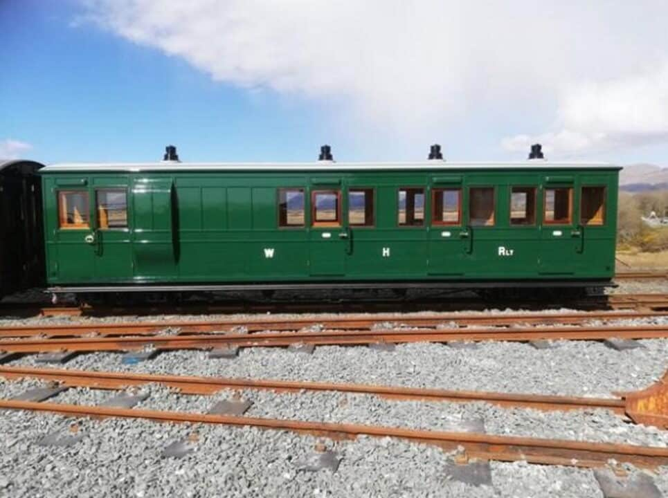 Pickering brake carriage at Boston Lodge