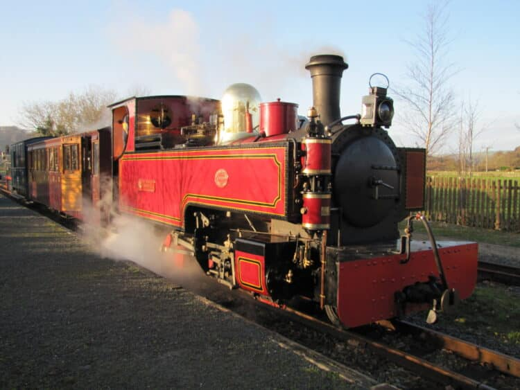 Welsh Highland Heritage Railway train