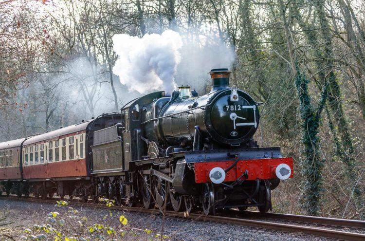 7812 Erlestoke Manor on the Severn Valley Railway