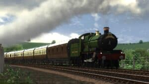 GWR Saint Locomotive Retexture for Train Simulator