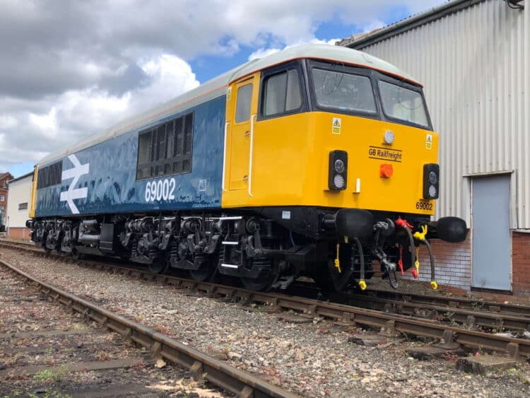 Class 69 in BR Large Logo