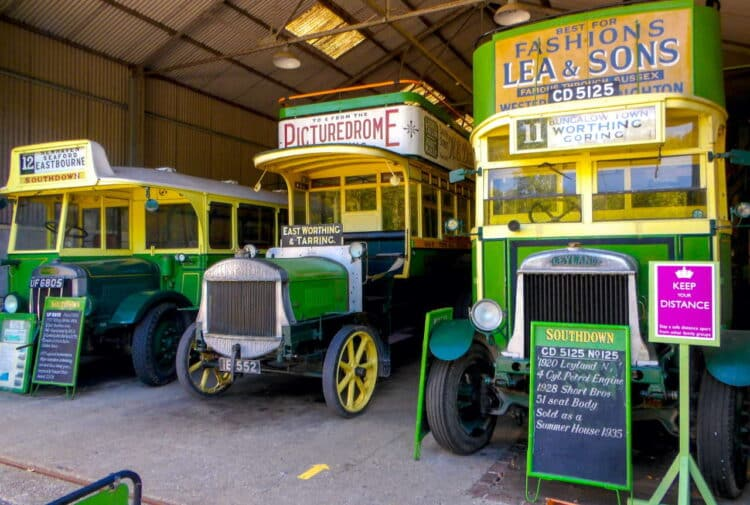 Amberley Museum Vintage Buses